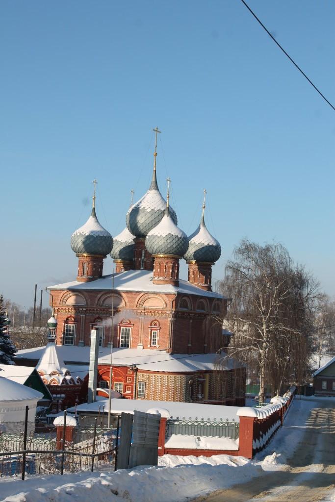 Вид храма с юго-востока